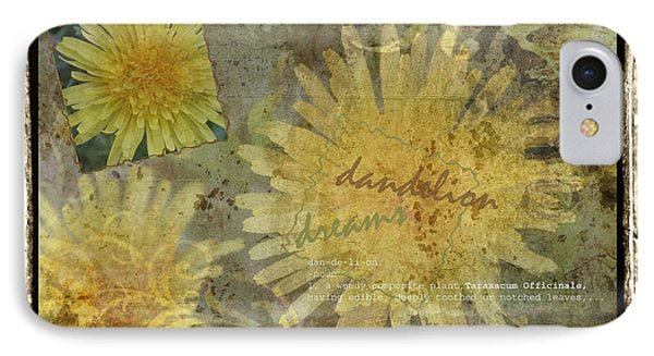IPhone Case featuring the photograph Dandelion Dreams by Terri Harper