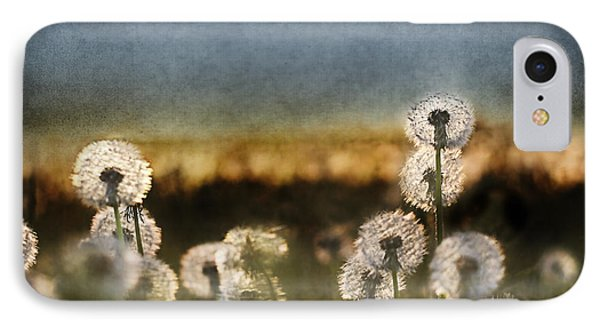 Dandelion Dusk Phone Case by Cindy Singleton