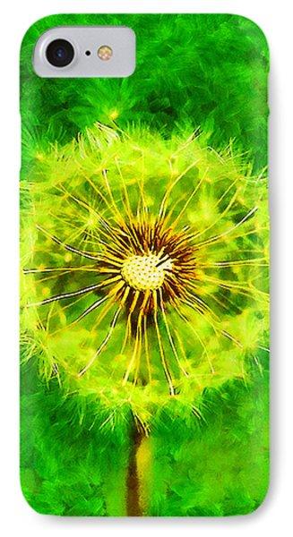Dandelion Phone Case by George Rossidis