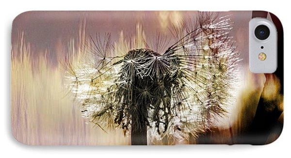 Dandelion In Summer IPhone Case by Tommytechno Sweden