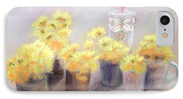 Dandelions IPhone Case by Yoshiko Mishina