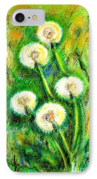 Dandelions Phone Case by Zaira Dzhaubaeva