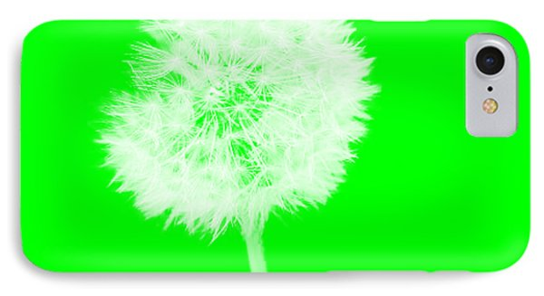 IPhone Case featuring the digital art Dandylion Green by Clayton Bruster