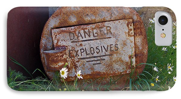 Danger Explosives IPhone Case