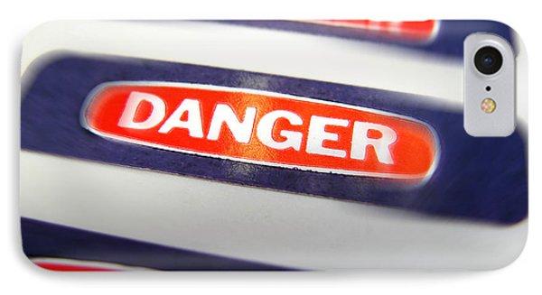 Danger Phone Case by Olivier Le Queinec