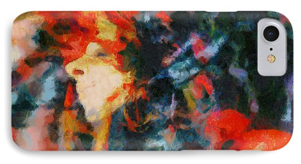 IPhone Case featuring the painting Dangerous Passion by Joe Misrasi