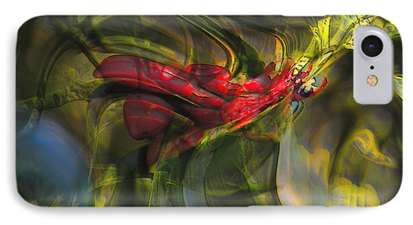 IPhone Case featuring the digital art Dangerous by Richard Thomas