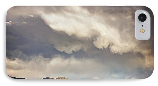 IPhone Case featuring the photograph Dangerous Sky In Santa Fe by Dave Garner
