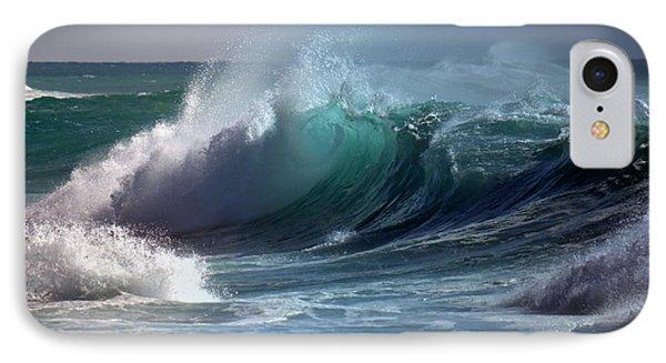 Dangerous Surf IPhone Case by Lori Seaman