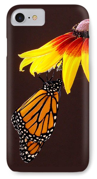 Dangling Monarch Phone Case by Jean Noren