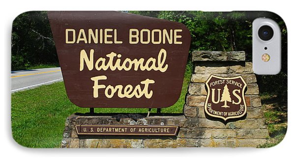 Daniel Boone Phone Case by Frozen in Time Fine Art Photography