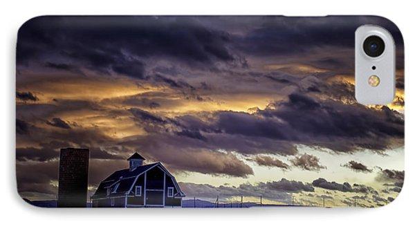 Daniel's Foreboding Sunset IPhone Case by Kristal Kraft