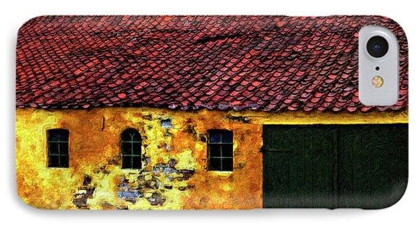 Danish Barn Impasto Version Phone Case by Steve Harrington