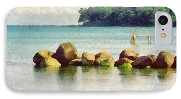 Danish Coast On The Rocks Phone Case by Jeffrey Kolker