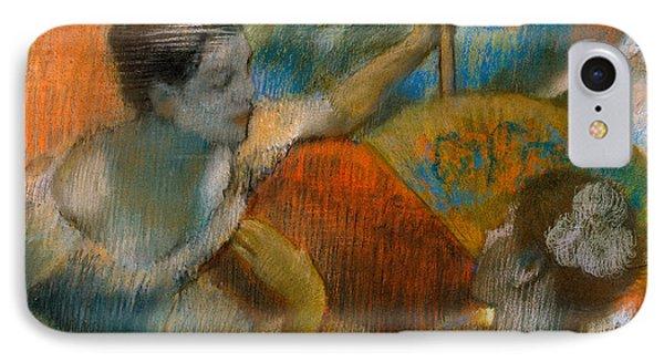 Danseuse A L'eventail Phone Case by Edgar Degas