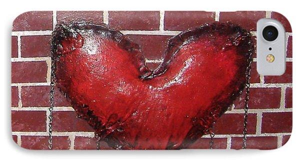 Daphnes Heart IPhone Case by Steve  Hester