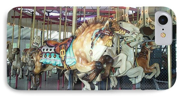 IPhone Case featuring the photograph Dapled Pony by Barbara McDevitt