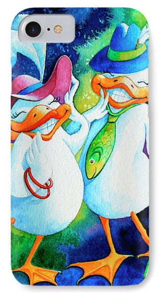 Dapper Duckies Phone Case by Hanne Lore Koehler