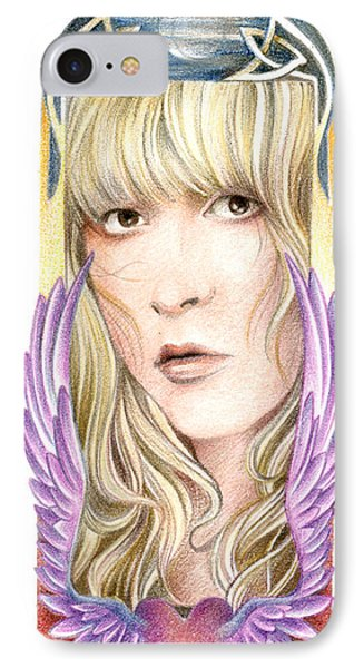 Dare My Wild Heart Phone Case by Johanna Pieterman