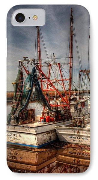 Darien Boats IPhone Case