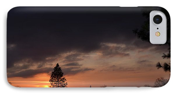Dark Clouds IPhone Case by Tom Mansfield