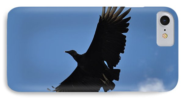 Dark Eagle  IPhone Case by Tomas Zohar