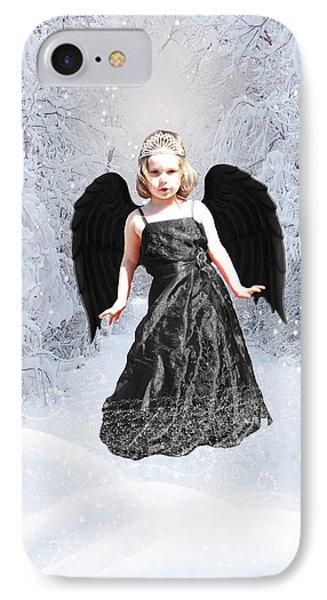 Dark Fairy Phone Case by ChelsyLotze International Studio