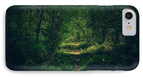 Dark Forest IPhone Case by Daniel Precht