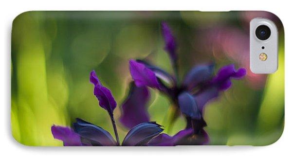 Dark Irises IPhone Case by Mike Reid