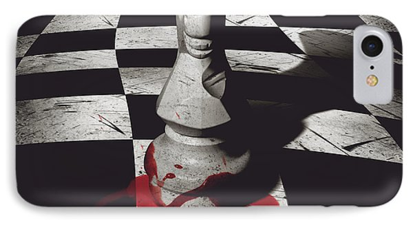 Dark Knight Of The Grand Chessboard IPhone Case by Jorgo Photography - Wall Art Gallery