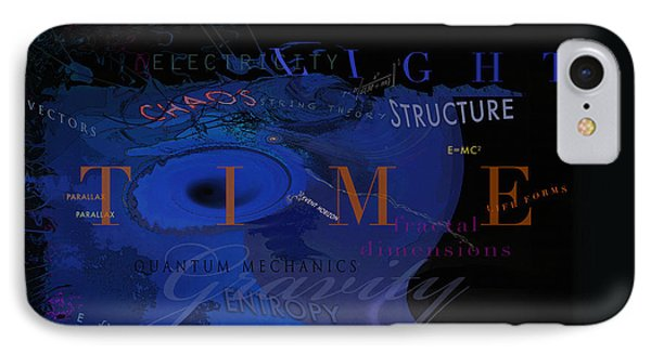 IPhone Case featuring the digital art Dark Matter by David Klaboe