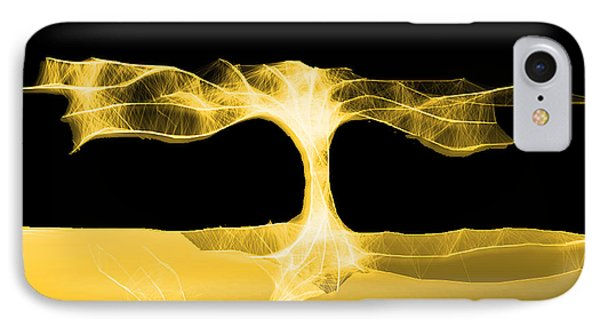 IPhone Case featuring the digital art Dark Noon by Asok Mukhopadhyay