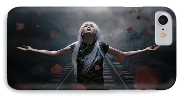 Dark Of Beauty Conceptual IPhone Case