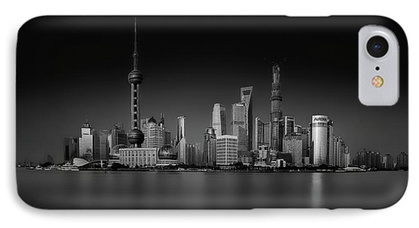 Dark Pudong IPhone Case