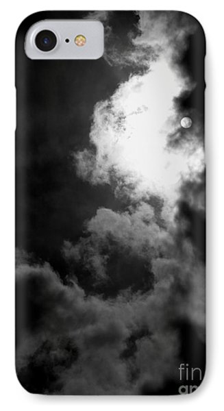 Dark Side Of The Sun Phone Case by Vicki Spindler
