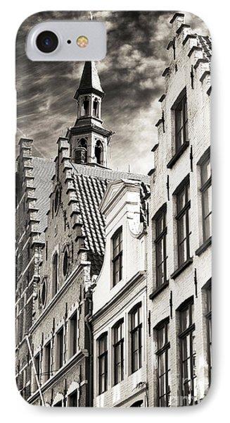 Dark Sky In Bruges Phone Case by John Rizzuto