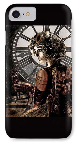 Dark Steampunk Phone Case by Jane Schnetlage