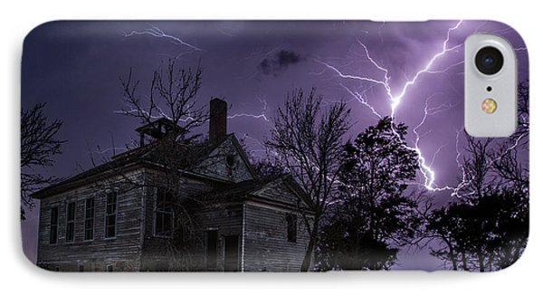 Dark Stormy Place IPhone Case by Aaron J Groen