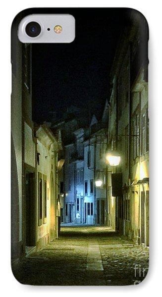 Dark Street IPhone Case by Carlos Caetano