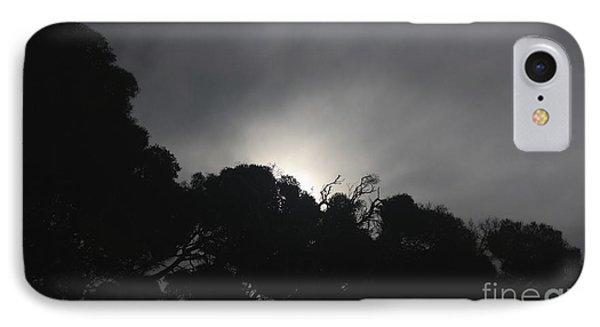 Dark Sun IPhone Case by Amanda Holmes Tzafrir