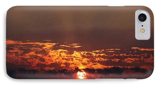 IPhone Case featuring the photograph Dark Sunset by Erica Hanel