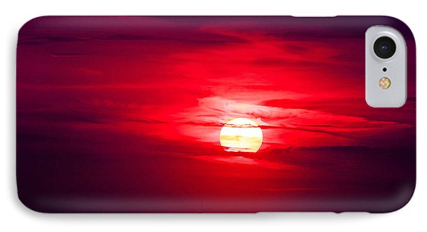 Dark Sunset IPhone Case by Julie Andel