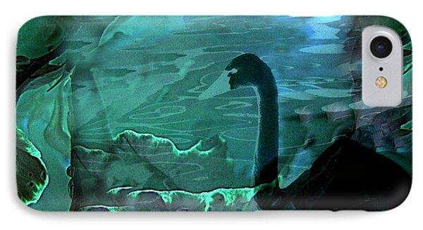 Dark Swan IPhone Case