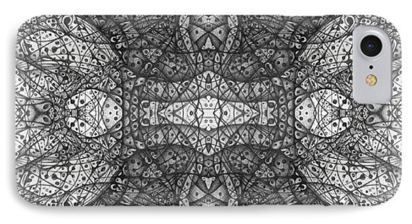 Dark Symetry IPhone Case by Jack Dillhunt