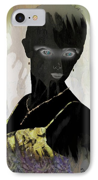 Dark Vision - Featured On Comfortable Art And A Place For All Groups Phone Case by EricaMaxine  Price