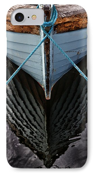 Boat iPhone 7 Case - Dark Waters by Stelios Kleanthous