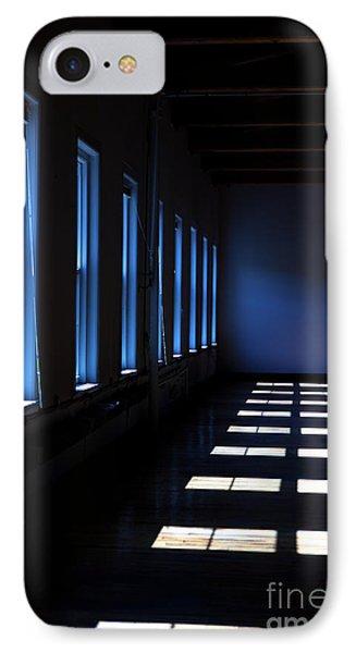 Dark Windowed Room IPhone Case by Diane Diederich