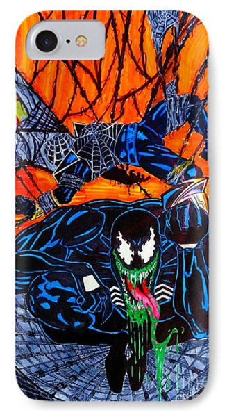 Darkhawk Issue 13 Homage IPhone Case by Justin Moore