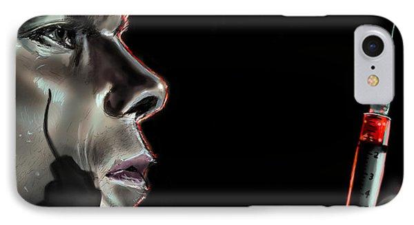 Darkly Dreaming Dexter Phone Case by Vinny John Usuriello