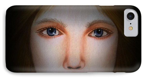 Darkness   Face Art By Saribelle Rodriguez IPhone Case